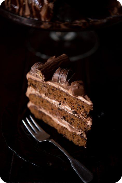tort negresă cu Nutella