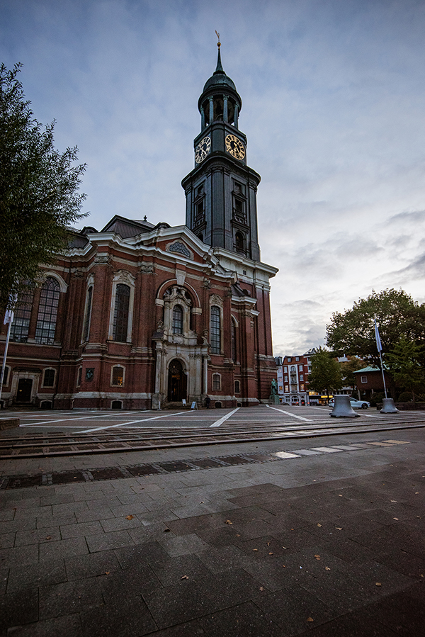Hamburg - Biserica Sf. Mihail