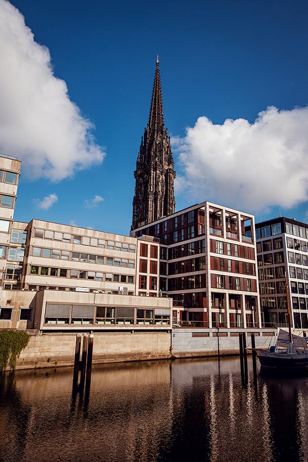 Hamburg - Memorialul Sf. Nikolai