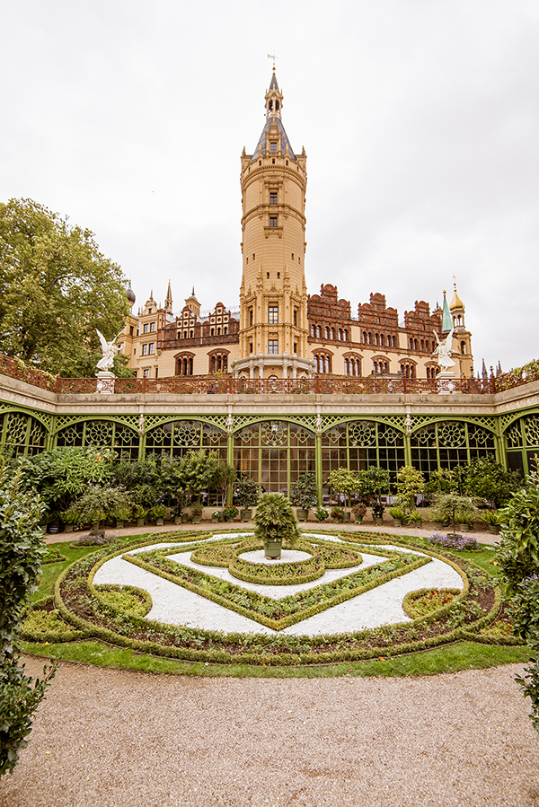 Orangerie & gradină - Schweriner Schloss